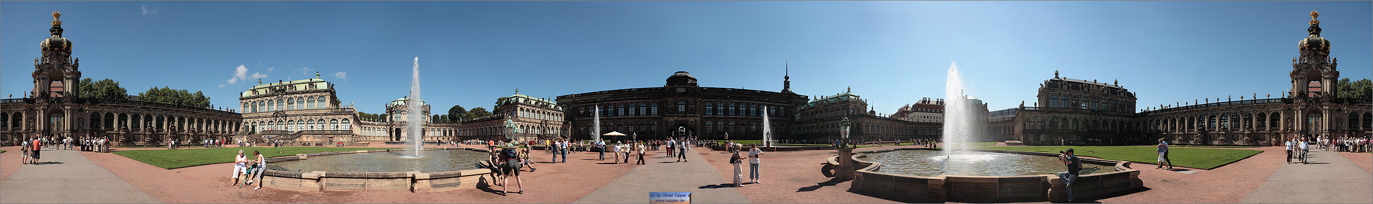 Panorama Dresden - Zwinger - p20 - (c) by Oliver Opper