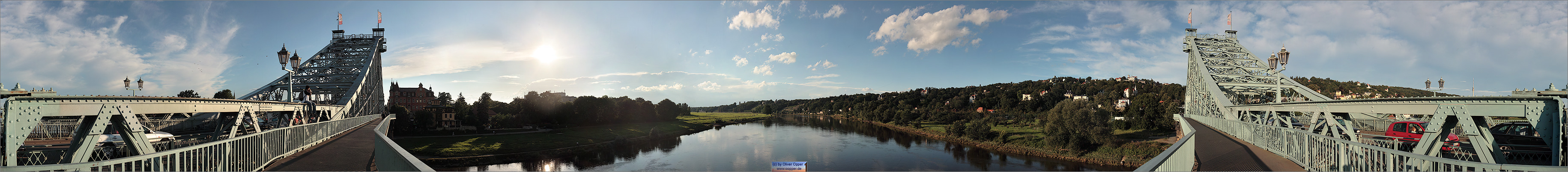 Panorama Dresden - Blaue Wunder - p36 - (c) by Oliver Opper
