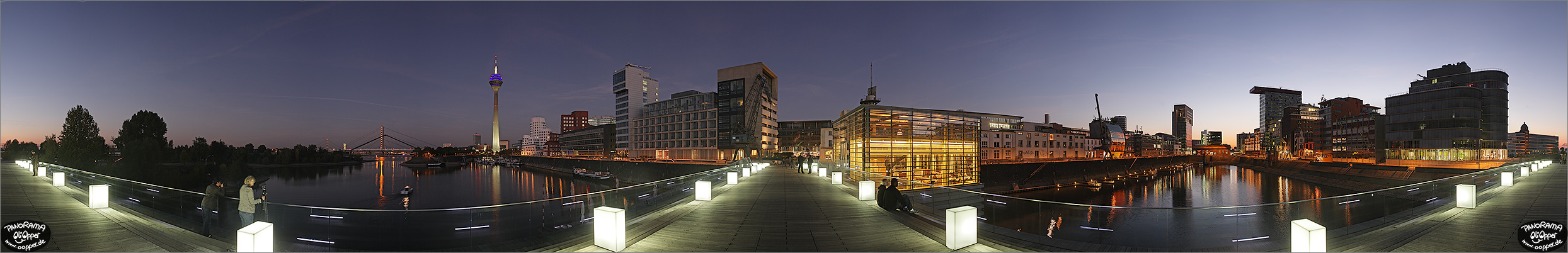 Panorama D�sseldorf - (c) by Oliver Opper