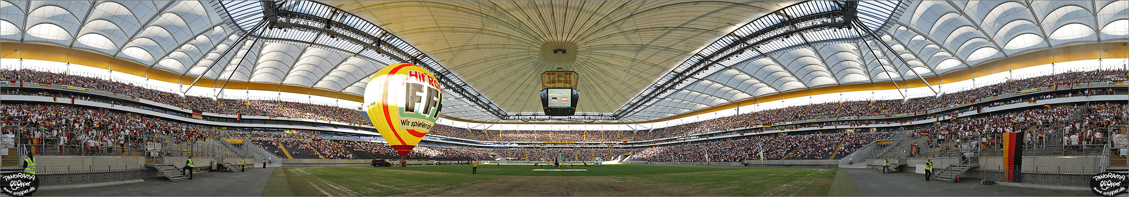 Panorama Frankfurt - Commerzbank Arena - p286 - (c) by Oliver Opper