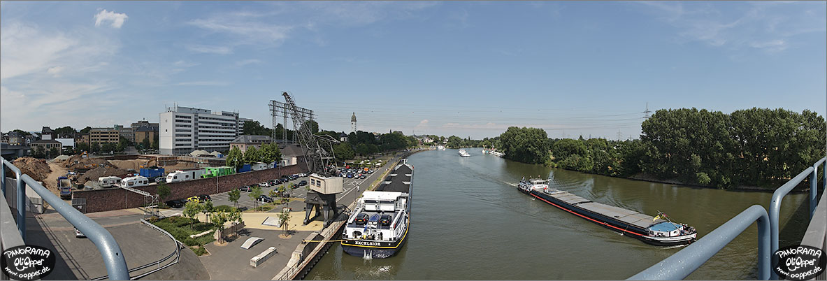 Panorama Frankfurt am Main - Altstadt H�chst - p1073 - (c) by Oliver Opper
