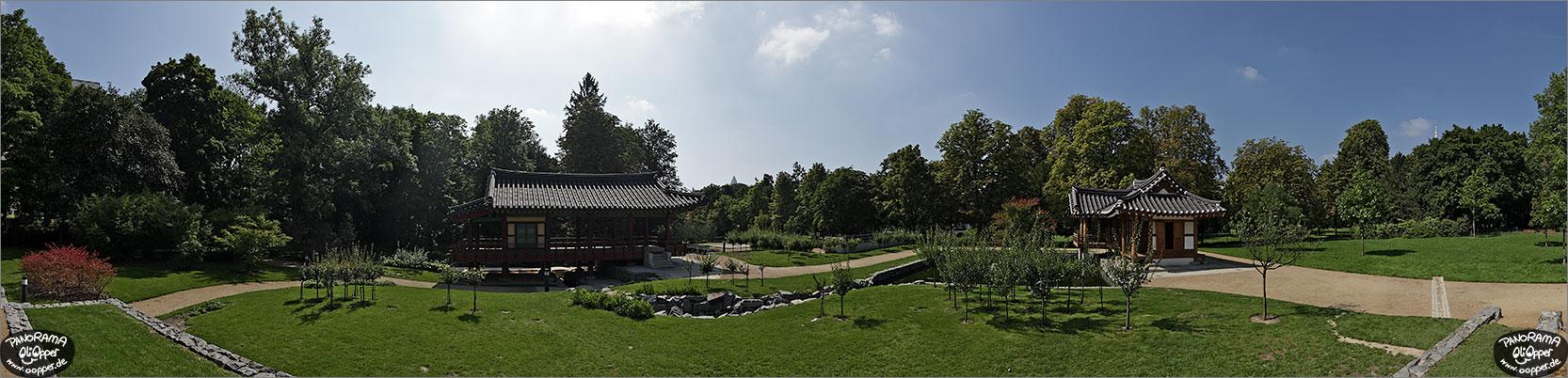panorama frankfurt am main koreanischer garten im gr neburgpark p1099. Black Bedroom Furniture Sets. Home Design Ideas