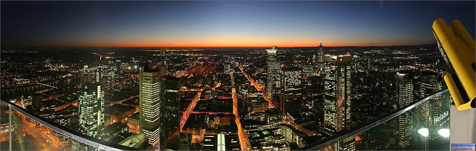 Panorama Frankfurt - Maintower - p051 - (c) by Oliver Opper