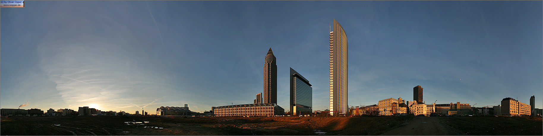 Panorama Frankfurt - Messegel�nde - p057 - (c) by Oliver Opper