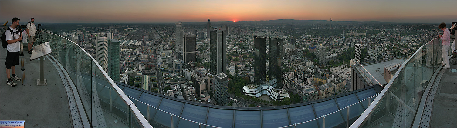 Panorama Frankfurt - Maintower - p078 - (c) by Oliver Opper