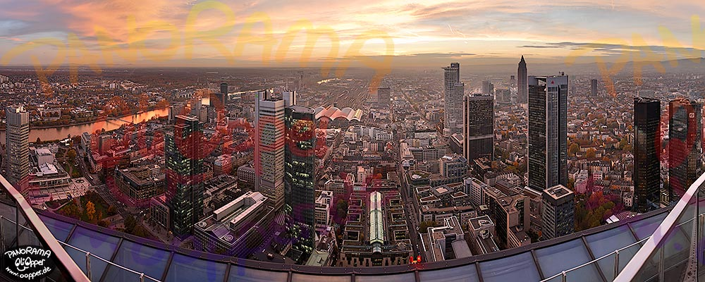 Panorama Frankfurt - Maintower - p149 - (c) by Oliver Opper