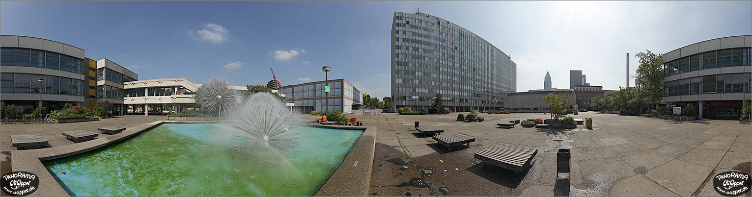 Panorama Frankfurt am Main - Uni - p1104 - (c) by Oliver Opper