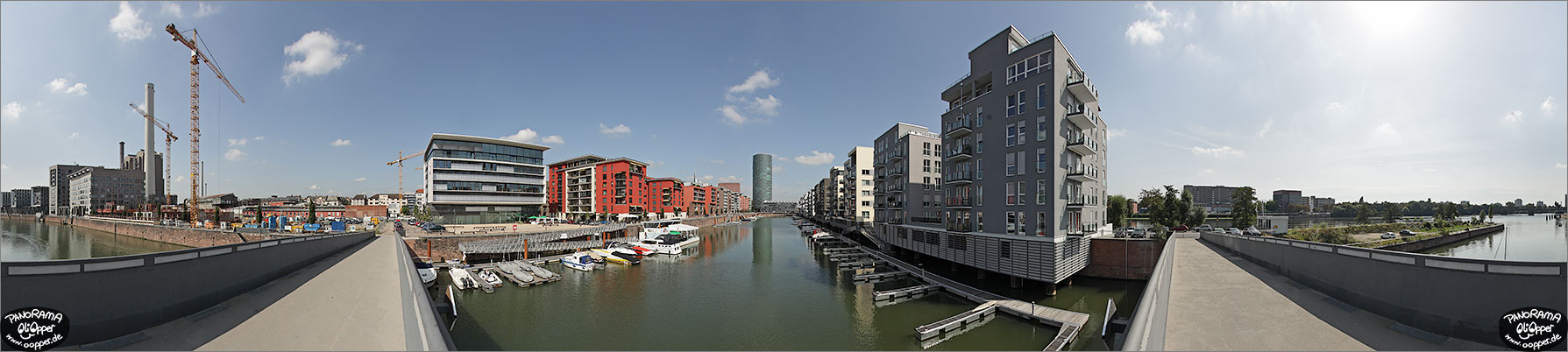 Panorama Frankfurt am Main - Westhafen - p1122 - (c) by Oliver Opper