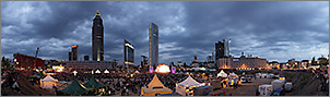 Wolkenkratzerfestival 2007 Frankfurt am Main