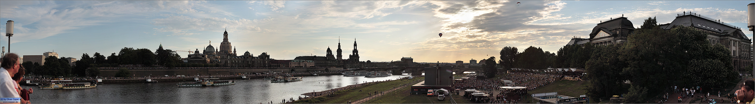 Panorama Dresden - (c) by Oliver Opper