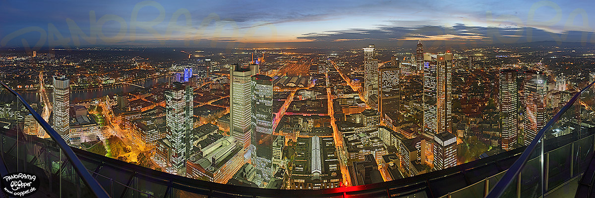 Panorama Frankfurt - Maintower - p150 - (c) by Oliver Opper