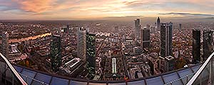 Panorama Frankfurt - Maintower - p149